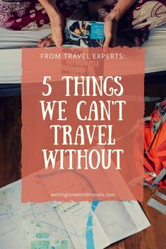 From Travel Experts: 5 Things We Can't Travel Without - Wellington World Travels Packing Tips, Travel Packing, Vacation Packing, Shopping Travel, Travel With Kids, Family Travel, Travel Guides, Travel Tips, Travel Hacks