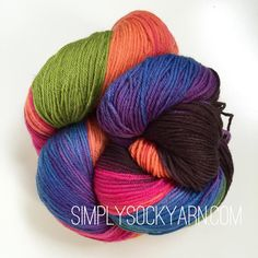 Simply Socks Yarn Company - LL Sock Multi Vlady Warhol, $25.00 (http://www.simplysockyarn.com/ll-sock-multi-vlady-warhol/)