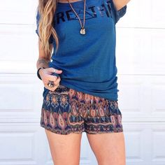 'Day Tripper Shorts' just hit the site and we are in Looooooove! >>>www.thesoulfulgypsy.com<<<