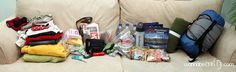 Wannabe Crafty: Adult's 72 hr Kit (Winter)