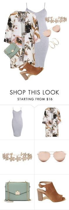 """""""curvy/plus spring summer chic"""" by xtrak ❤ liked on Polyvore featuring Boohoo, Zhenzi, Humble Chic, Linda Farrow, Jennifer Lopez, Hollister Co. and Vita Fede"""