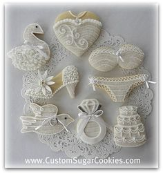 June bride cookies.