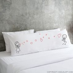 "Use this romantic ""From My Heart to Yours"" body pillowcase to exclaim to him with passion and love. A cute anniversary gift for boyfriend or husband. Couple Pillowcase, Boy Meets Girl, Anniversary Gifts For Husband, Couple Gifts, Love Is All, Girl Gifts, Boyfriend Gifts, My Heart, Bed Pillows"