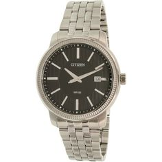 Citizen Men's BI1081-52E Silver Stainless-Steel Quartz Watch