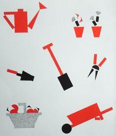 Nathalie Parain (1897-1958). Ronds et carrés. Flammarion. 2001