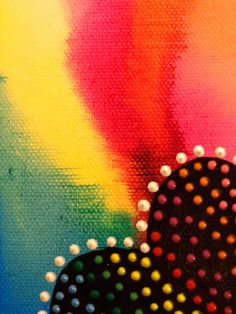 Abstract Heart Love Painting on Canvas by HeatherMontgomeryArt, $12.00