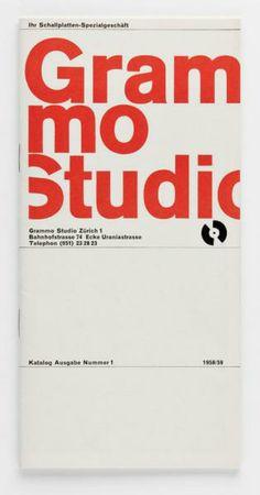 Siegfried Odermatt Grammo Studio