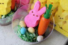 Peeps Terrarium Easter Dessert