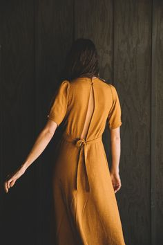 Poppy Tea Dress in Amber Fashion Mode, Look Fashion, Style Outfits, Costume, Dress Me Up, Capsule Wardrobe, What To Wear, Style Me, Style Inspiration