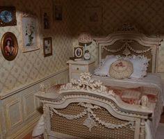 miniature shabby bedroom