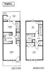 Duplex 2 Bedroom Story Apartment In Grey Tennessee Vernie S Home Building Ideas Rental Apartments A House