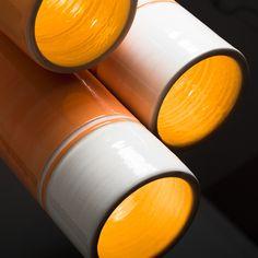 Le Cavagne lamps. Collezione Design meets Sicily. Lampade a sospensione realizzate in ceramica con finitura ad engobbio. www.salvatorespataro.com