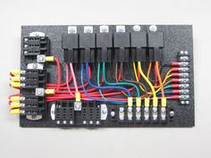 111a5eee15b1a91d3d7a8c6cf7f5b299 fuse panel electronics super clean relay board vehicles custom ideas pinterest race car fuse box at suagrazia.org