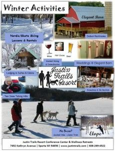 If you are looking for good old fashioned wintertime fun, you have got to head straight to Justin Trails Resort! No height or age requirement and we're open daily 10-5:00. www.justintrails.com