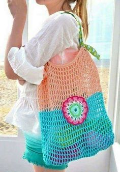 byClaire workshop - at the BEACH ! - byClaire - crochet patterns, crochet books, crochet yarn byClaire workshop - at the BEACH ! Free Crochet Bag, Crochet Market Bag, Diy Crochet And Knitting, Crochet Tote, Crochet Books, Crochet Handbags, Crochet Purses, Crochet Crafts, Crochet Video