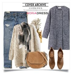 """""""NoraDress 27"""" by amra-mak ❤ liked on Polyvore featuring Nate Berkus, Toast, Hollister Co., H&M, rag & bone and noradress"""