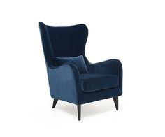Gracey occasional blue chair