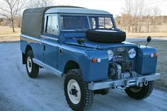 Restored 1963 Land Rover Series 2A 109 Pick-Up   Bring a Trailer