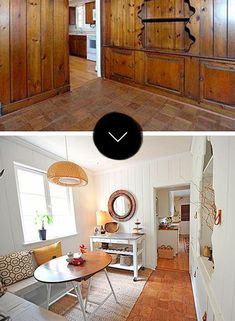 Wood paneling makeover ideas kitchen makeover ideas kitchen on a budget kitchens makeover paint over wood Wood Paneling Makeover, Painting Wood Paneling, Paneling Remodel, Wood Paneling Decor, Basement Painting, Paneling Ideas, Diy Painting, Painted Paneling Walls, White Wood Paneling
