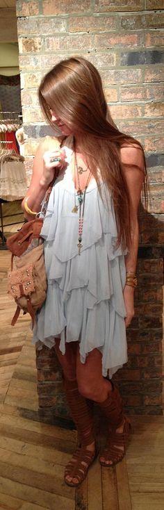dramatic + simple lavender dress