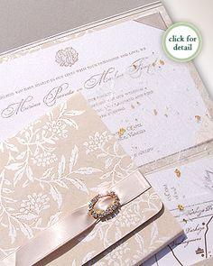 Dublin Luxury Couture Wedding Invitation