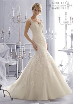 Mori Lee - 2672 - All Dressed Up, Bridal Gown