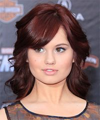Debby Ryan Hairstyle: Formal Medium Wavy Hairstyle