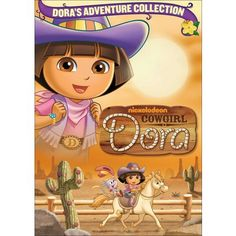 Cowgirl Dora (Dora the Explorer) - Unknown Dora Cartoon, Rodeo Birthday Parties, Dora Games, English Games, Cute Cartoon Pictures, Video On Demand, Dora The Explorer, Top Movies