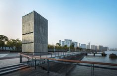 Vertical Glass House / Atelier FCJZ (Longteng Avenue, Xuhui, Xangai, China) #architecture
