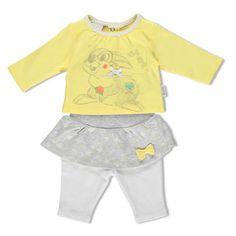 #Completo t-shirt e gonna con leggings disney misura 76  ad Euro 35.90 in #Brums #Neonata 0 9m > completi