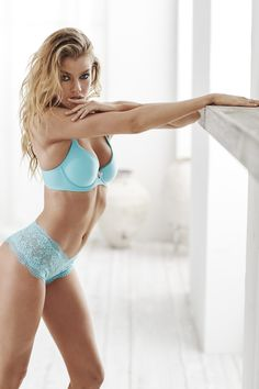 Cool down on hot days with a fresh aqua hue...and heat things up at the same time because obviously ;). | Victoria's Secret Demi Bra