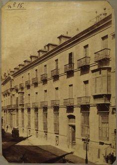 Imágenes del viejo Madrid. Palacio de Oñate (desaparecido). Calle Mayor. 1900.