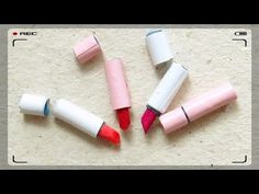 Como Fazer Mini Batom para Barbie e outras Bonecas (#1 - Acessórios de Beleza) - YouTube