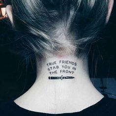 Great tattoo on @kris_lastochka #olisykes #dropdead #bmth #bringmethehorizon