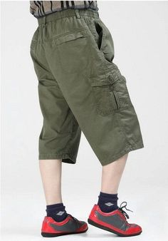 963fb4be4b8 Men New Summer Cargo Shorts Workman Working Wear Plus Size XXXL 4XL 5XL 6XL  Tactical Capri