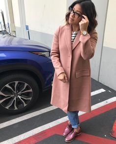 Gina Rodriguez rockin my dream coat Gina Rodriguez, Winter Fashion Outfits, Autumn Winter Fashion, Fashion Days, Fall Fashion, Preppy Style, My Style, Look 2018, Cool Outfits