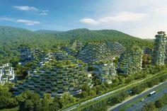 Forest City – Une ville verte avec plus d'1 million d'arbres et de plantes