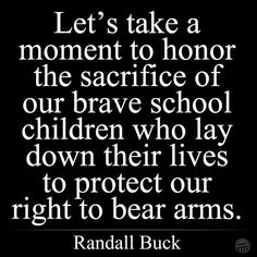 Insanity of the attitude that the right to bear arms of any kind