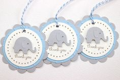 by ConfettiCreationsAus Elephant Party, Elephant Birthday, Elephant Baby Showers, Baby Elephant, Distintivos Baby Shower, Baby Shower Parties, Baby Shower Gifts, Baby Boy Themes, Baby Shawer