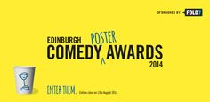 2014 Edinburgh Comedy Poster Awards will be hosted by Russell Kane at The Scotsman Hotel on the 18th of August.
