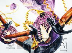 14번 Anime, Painting, Design, Painting Art, Cartoon Movies, Paintings, Anime Music, Painted Canvas