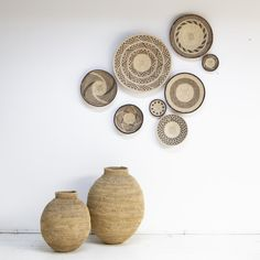 Boho Style Decor, Deco Boheme, Gifts For Office, Cool Apartments, Basket Decoration, Front Door Decor, Baskets On Wall, Ibiza Fashion, Dining Room Design