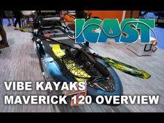 Vibe Kayak Maverick 120 Overview at iCast 2018