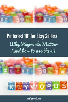 Struggling with how to use Pinterest for business? These tips for using keywords on Pinterest will help increase your traffic and potential sales...