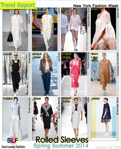 cool SLF (Rolled Sleeves Fashion Trend for Spring Summer...) Fashion designers Check more at http://pinfashion.top/pin/62894/