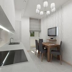 Awesome Интерьер компактной элегантной и одновременно современной кухни, в которой  присутствуют все необходимые рабочие поверхности и · Design Studios