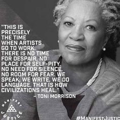 Today we feel, as artists & activists, that Toni Morrison's #quotation sums up what we should all strive for - just as the suffragettes did.  Time to reflect, regroup, re-energise. We support all who champion equality & voting matters. To all our friends, known & unknown, never forget that no matter the disappointments or the setbacks, our direction is forwards - with love.  Emily Davison & her sister suffragettes are willing us on. It is our choice whether or not to further their noble…