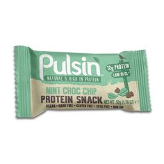 Ocado: Pulsin Mint Choc Chip Protein Snack 50g(Product Information)