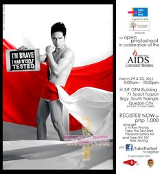 Let's support Take The Test with Noel Abelardo's Photography. Show the cause. Advocacy is Sexy!