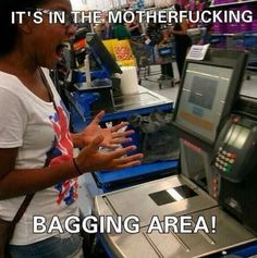 It is in the bagging area... - The Meta Picture